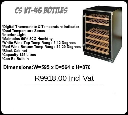 CS VT 46 Bottles