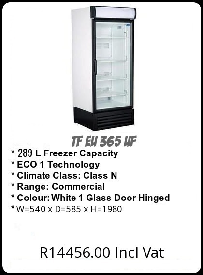 TF EU365UF Upright Freezer