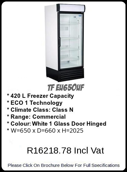 TF EU650UF Upright Freezer