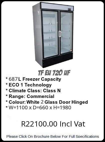TF EU720UF Upright Freezer