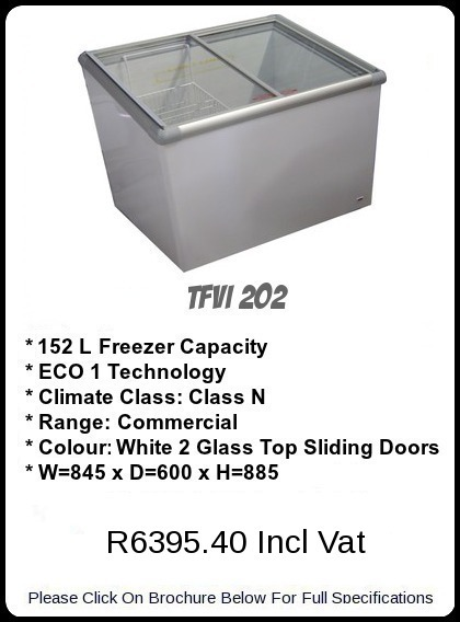 TF VI 202 Ice Cream Freezer