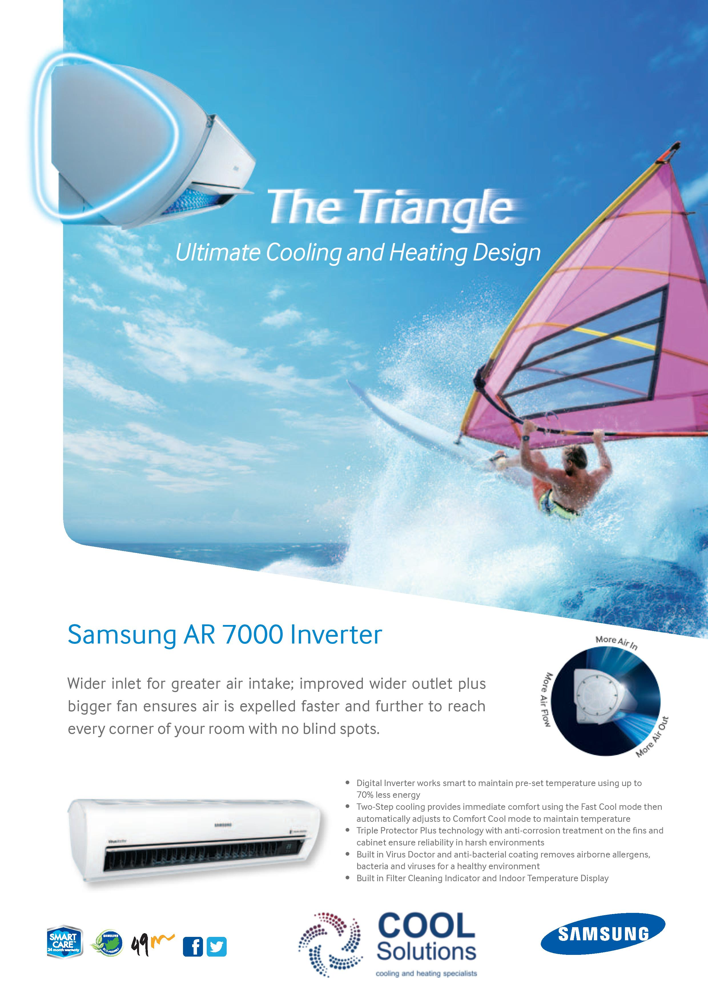 Samsung AR 7000 Digital Inverter Air Conditioners #2284AA