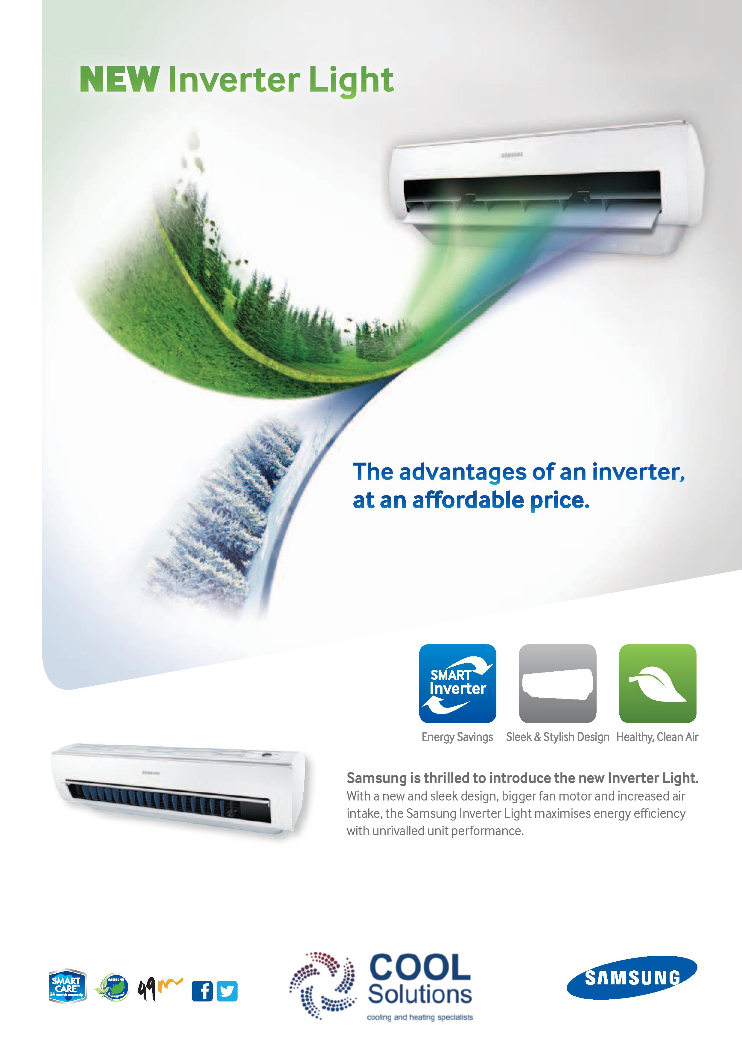 Samsung Air Conditioners Cool Solutions #226FA9