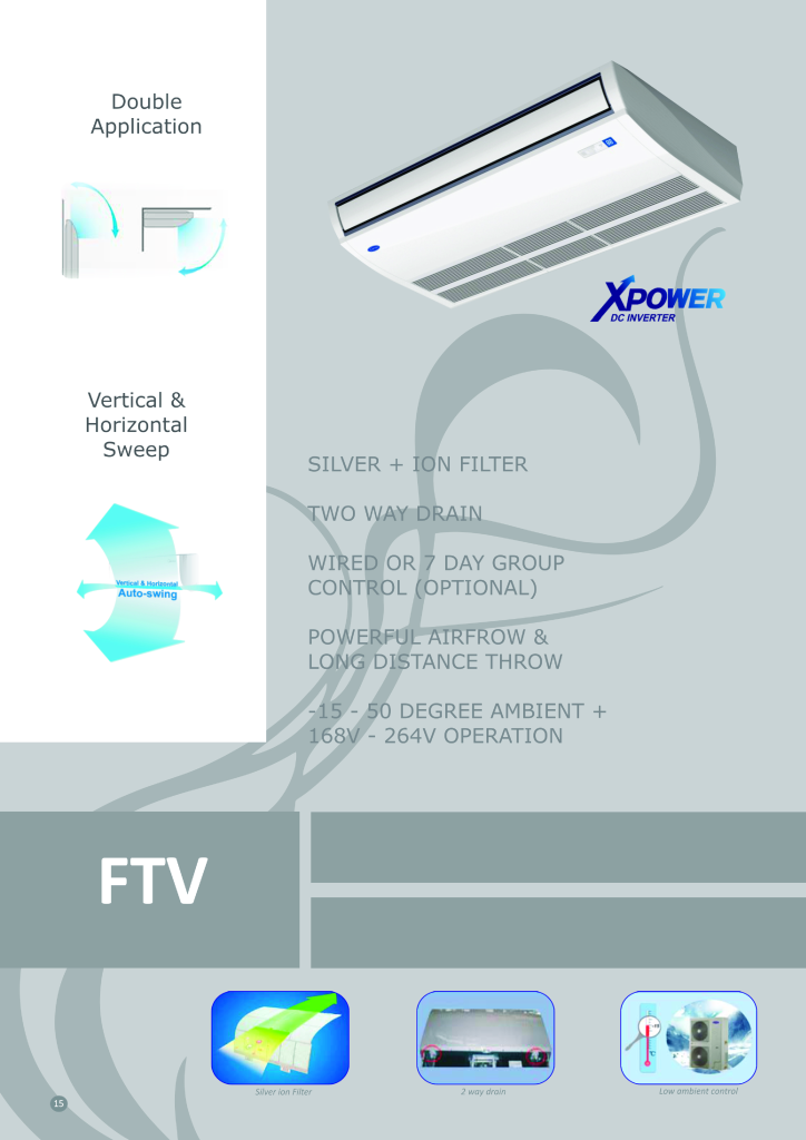 Underceiling Inverter Front