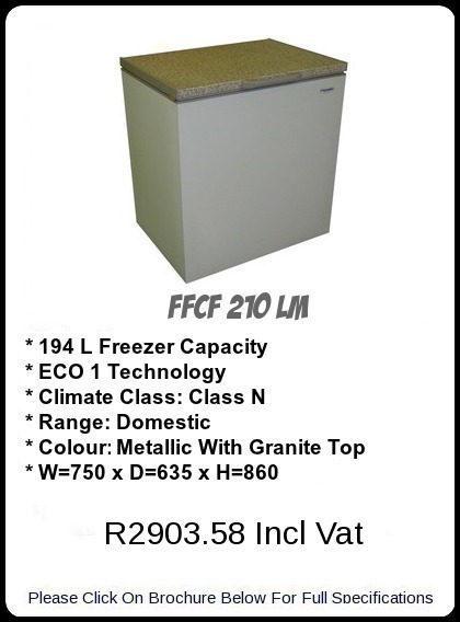 FFCF 210 LM Chest Freezer