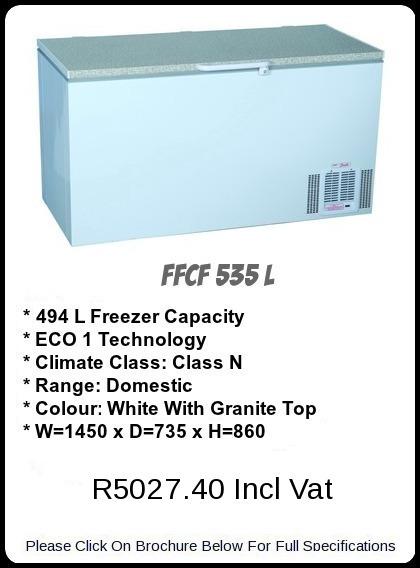FFCF 535 L Chest Freezer