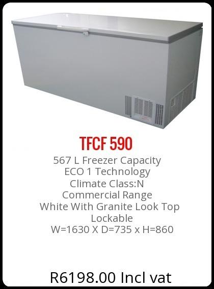 TFCF-590-L Chest Freezer