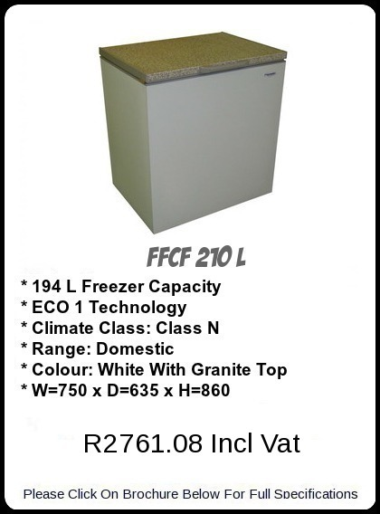 FFCF 210 L Chest Freezer