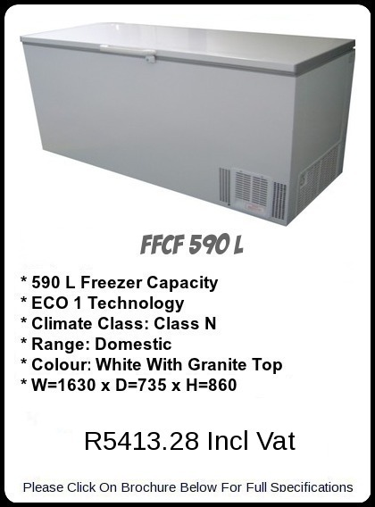 FFCF 590 L Chest Freezer
