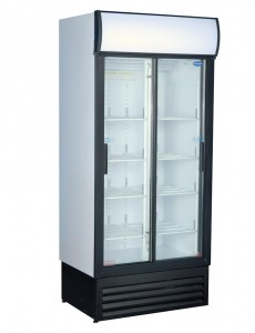 BEVERAGE COOLER SLIDING DOOR